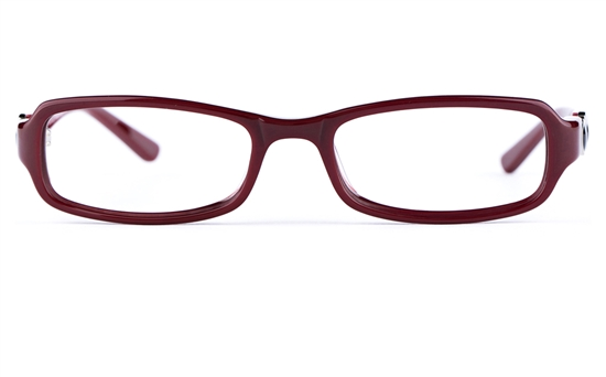 Vista First  0835 Acetate(ZYL) Womens Oval Full Rim Optical Glasses