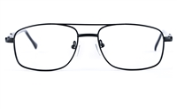 Poesia 6633 Stainless Steel Mens&Womens Round Full Rim Optical Glasses
