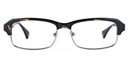 Vista First 1629 Acetate(ZYL) Mens Square Full Rim Optical Glasses for Fashion,Classic,Nose Pads Bifocals