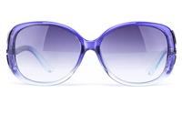 Vista Sport 2335 Propionate Womens Round Full Rim Sunglasses