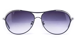 Vista Sport 2244 Stainless Steel Womens Round Full Rim Sunglasses for Fashion,Classic,Party,Sport Bifocals
