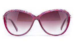 Vista Sport 2324 Stainless Steel/Propionate Womens Cat eye Full Rim Sunglasses