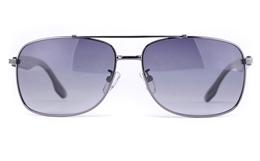 Vista Sport P1302 Stainless Steel Mens Oval Full Rim Sunglasses for Fashion,Sport,Nose Pads Bifocals