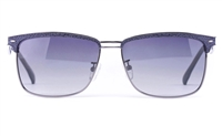 Vista Sport P1304 Stainless Steel Mens Square Full Rim Sunglasses