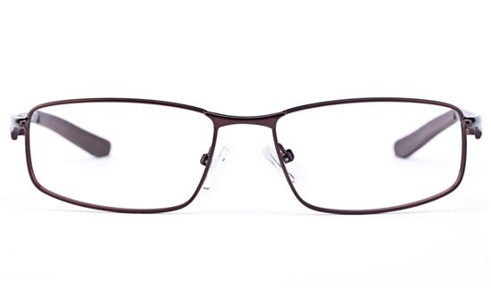 Vista Sport 9103 Stainless Steel Mens Square Full Rim Optical Glasses