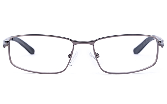 Vista Sport 9103 Stainless Steel Mens Square Full Rim Optical Glasses