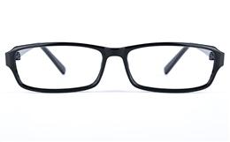 Poesia 3030 Propionate Mens Womens Rectangle Full Rim Optical Glasses for Fashion,Classic