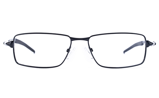 Vista Sport 9107 Stainless Steel Mens Square Full Rim Optical Glasses