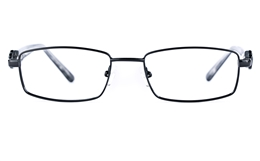 Vista First 8812 Stainless Steel/ZYL  Womens Square Full Rim Optical Glasses
