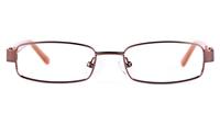 Vista Kids 5812 Stainless Steel/ZYL  Kids Square Full Rim Optical Glasses
