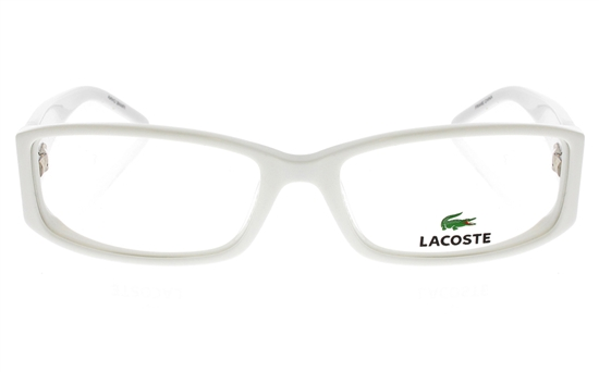 LACOSTE L2607 Stainless Steel/ZYL Mens&Womens Full Rim Optical ...