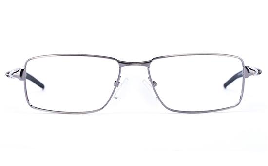 Vista Sport 9107 Stainless Steel Mens Square Full Rim Optical Glasses