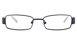 Vista Kids 5811 Stainless Steel/ZYL  Kids Square Full Rim Optical Glasses