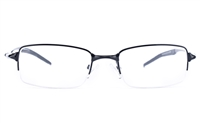 Vista First 9106 Stainless Steel Mens Square Semi-rimless Optical Glasses