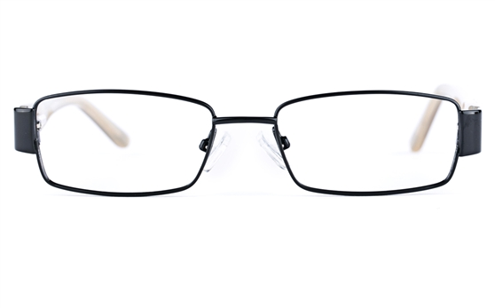 Vista Kids 5813 Stainless Steel/ZYL  Kids Square Full Rim Optical Glasses