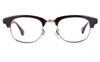 Vista First 1628 Stainless Steel/ZYL  Mens&Womens Round Full Rim Optical Glasses