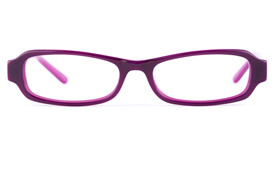 Vista Kids 0570 Acetate(ZYL) Kids Oval Full Rim Optical Glasses