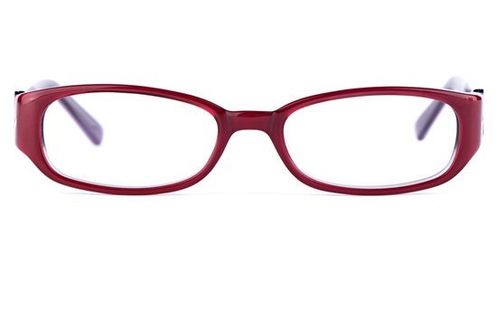Vista Kids 0569 Acetate(ZYL) Kids Oval Full Rim Optical Glasses