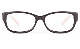 Vista First 0182 Acetate(ZYL)  Mens Womens Oval Full Rim Optical Glasses for Fashion,Classic Bifocals
