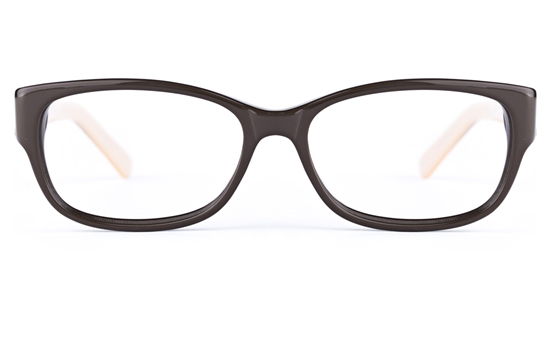 Vista First 0182 Acetate(ZYL)  Mens&Womens Oval Full Rim Optical Glasses