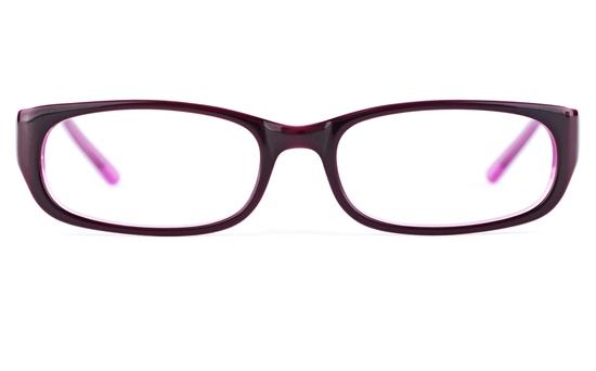 Vista Kids 0571 Acetate(ZYL) Kids Oval Full Rim Optical Glasses