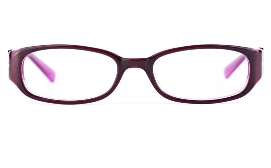 Vista Kids 0569 Acetate(ZYL) Kids Oval Full Rim Optical Glasses