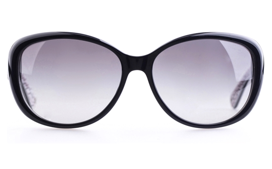 Coach HC8040BF Acetate Womens Round Full Rim Sunglasses