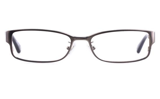 619640da97b Coach HC5031 Stainless steel Acetate Mens Womens Oval Full Rim Optical  Glasses(Gun)