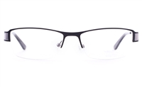 Vista First U3312 Stainless steel Mens&Womens Oval Semi-rimless Optical Glasses