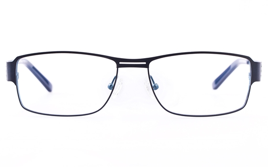 Vista First U3303 Stainless steel Mens&Womens Oval Full Rim Optical Glasses