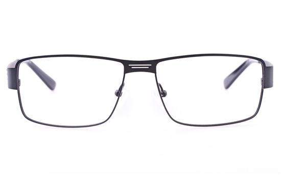 Vista First U3301 Stainless steel Mens Square Full Rim Optical Glasses