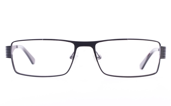 Vista First U1131 Stainless steel Mens Square Full Rim Optical Glasses