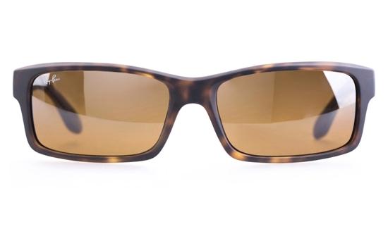 1a342e0c224 Ray-Ban RB4151 Polycarbonate(PC) Mens Rectangle Full Rim Sunglasses