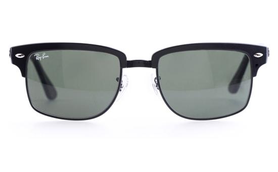 Ray-Ban RB4190 Stainless steel Mens Square Full Rim Sunglasses