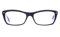 Ray-Ban RB5255 Acetate Mens Square Full Rim Optical Glasses