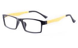 Poesia 7006 MATTE Mens&Womens Square Full Rim Optical Glasses