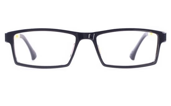 Poesia 7006 MATTE Mens&Womens Square Full Rim Optical Glasses