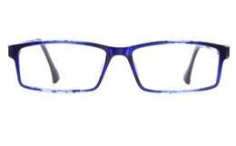 Poesia 7003 TEXTURE ULTEM Mens Womens Rectangle Full Rim Optical Glasses for Fashion,Classic Bifocals