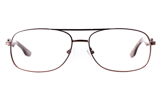 Vista First 1630 Stainless steel Mens Square Full Rim Optical Glasses