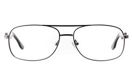 Vista First 1630 Stainless steel Mens Square Full Rim Optical Glasses
