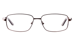 Vista Sport 9109 Stainless steel Mens Square Full Rim Optical Glasses for Classic,Nose Pads Bifocals