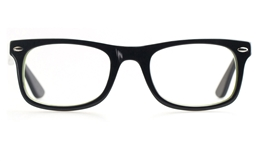 Vista Kids H1021 Acetate(ZYL) Kids Square Full Rim Optical Glasses for Classic,Party Bifocals
