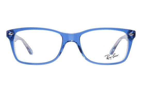 Ray Ban 0rx5228 Acetate Mens Womens Full Rim Optical Glasses Blue 5111