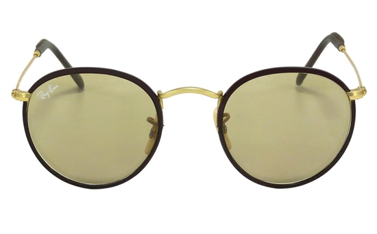 332fe842253 Ray-Ban 0RB3475Q ROUND CRAFT Metal Mens   Womens Full Rim Sunglasses