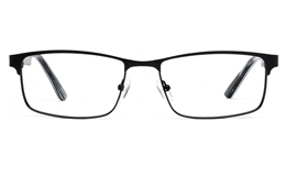 Vista First 1111 Stainless steel Mens   Womens Full Rim Optical Glasses for Fashion,Classic,Party,Nose Pads Bifocals