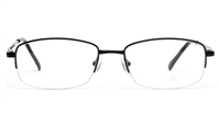 Poesia 6035 Stainless steel Mens & Womens Semi-rimless Optical Glasses