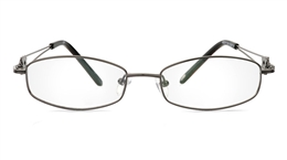 Vista First 1094 Stainless Steel/ZYL Full Rim Womens Optical Glasses for Fashion,Nose Pads Bifocals