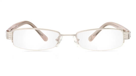 Vista First 1087 Stainless Steel/ZYL Mens&Womens Half Rim Optical Glasses