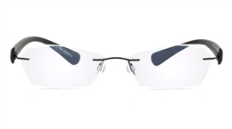 Vista First 5012 Stainless Steel Mens Womens None Optical Glasses for Sport,Nose Pads Bifocals