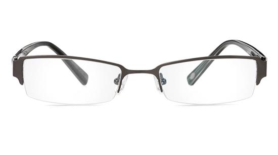 Vista First 1053 Stainless Steel/ZYL Mens&Womens Half Rim Optical Glasses